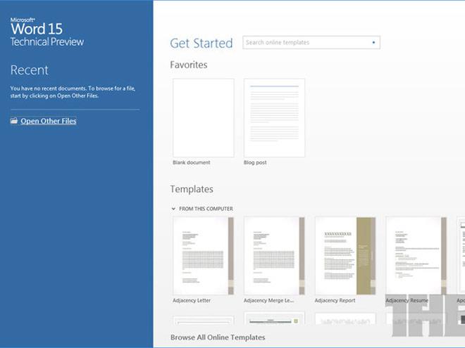 Office 15 : quelques infos au sujet de la prochaine suite bureautique de Microsoft