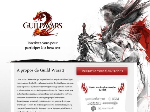 Ouverture bêta Guild Wars 2