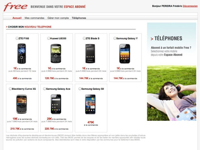 Free Mobile : le paiement des mobiles en plusieurs fois fait son entrée