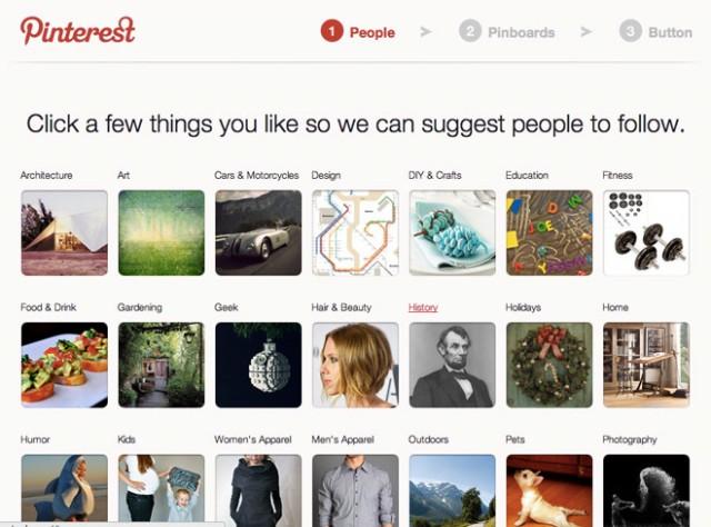 Pinterest épingle le web (+ invitations)