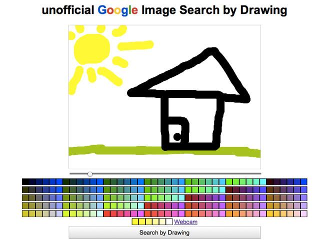 Rechercher des images sur Google en dessinant