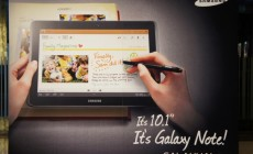 Samsung Galaxy Note 10.1 : il arrive !