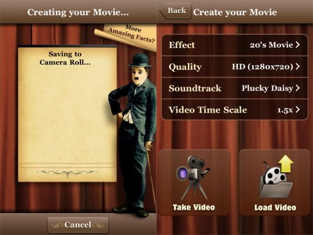 """Produisez le prochain """"The Artist"""" avec votre iPhone et Silent Film Director"""
