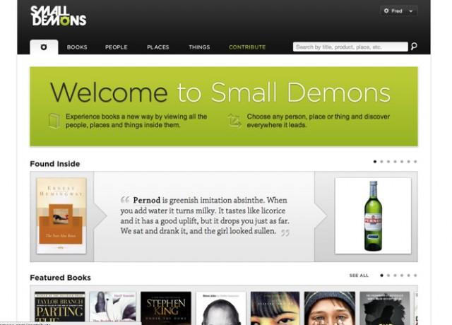 Découvrez l'autre facette de vos livres préférés avec Small Demons