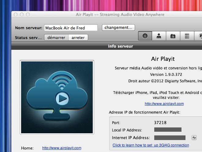 Streamer des films, des séries et de la musique sur votre iPhone, iPod Touch ou iPad en 3G