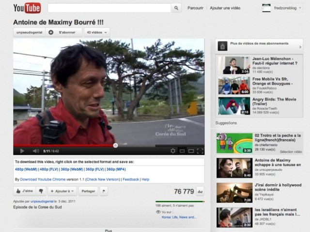 Télécharger les vidéos de YouTube en un clic avec Google Chrome