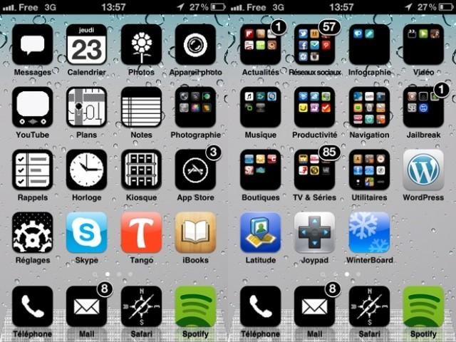 iOS : un thème rétro pour votre iPhone, iPod Touch ou iPad