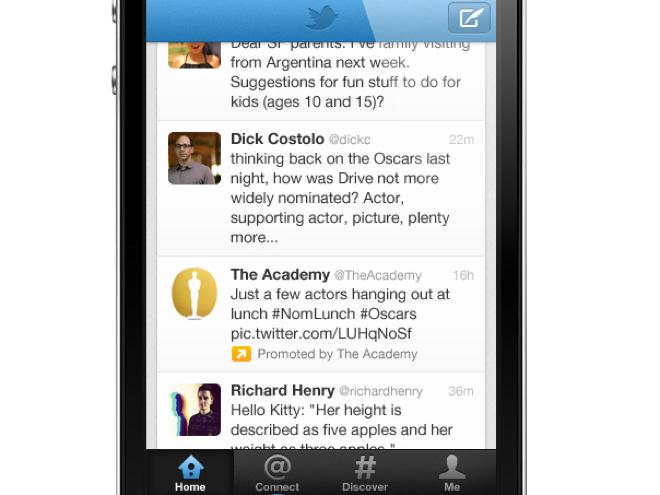 Twitter : les tweets sponsorisés bientôt sur toutes les applications iOS et Android