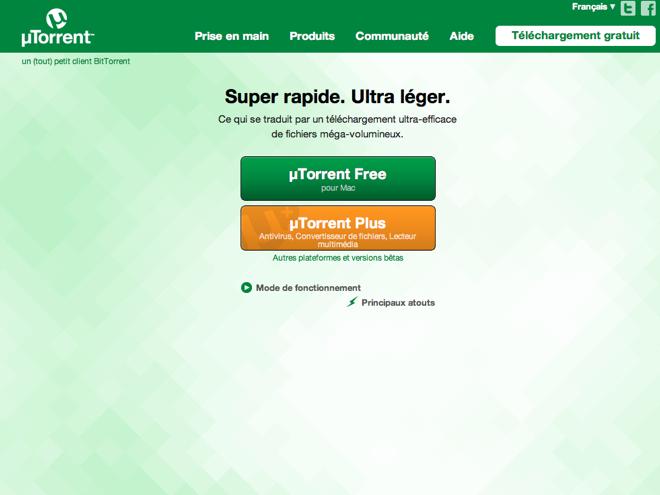 uTorrent : bientôt un client natif pour Android
