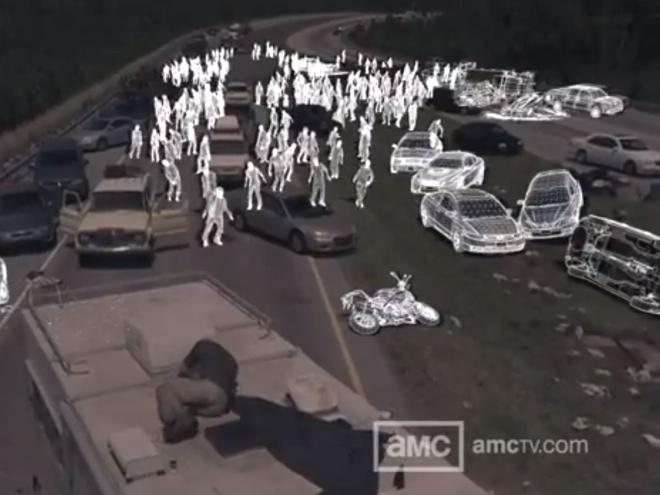 The Walking Dead saison 2 : les effets spéciaux de la série en vidéo