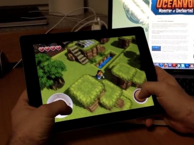 OceanHorn : une vidéo de gameplay du Zelda-like pour iPhone et iPad