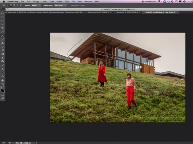 "Photoshop CS6 : un aperçu du nouveau ""Content-Aware"""