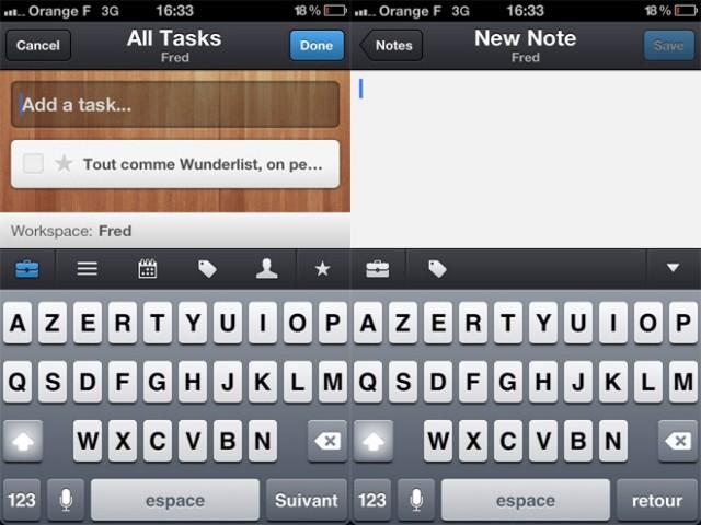 Wunderkit est disponible sur iPhone