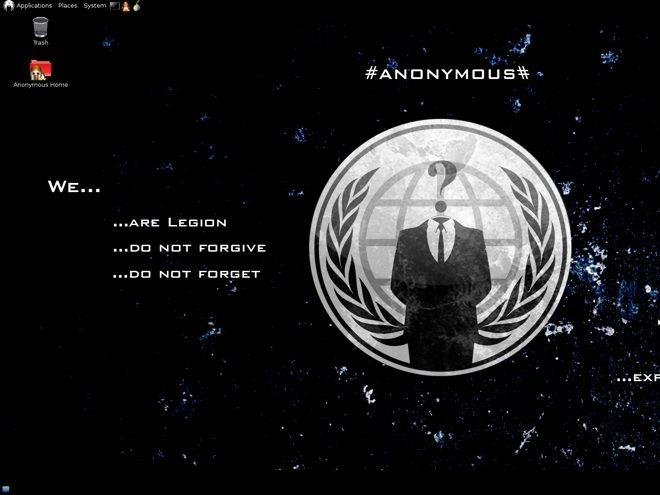 Anonymous OS : le système d'exploitation des Anonymous