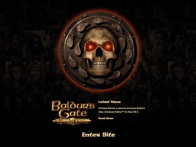 Baldur's Gate Enhanced Edition sera aussi disponible sur Mac