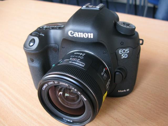 Canon EOS 5D Mark III : il est arrivé !