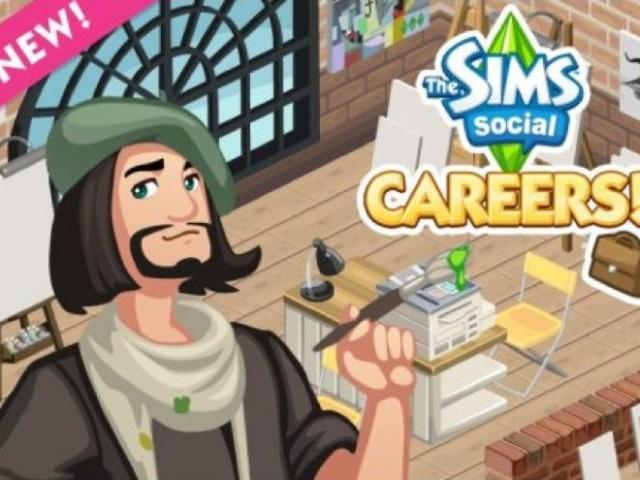 Les Sims Social : les carrières arrivent demain !