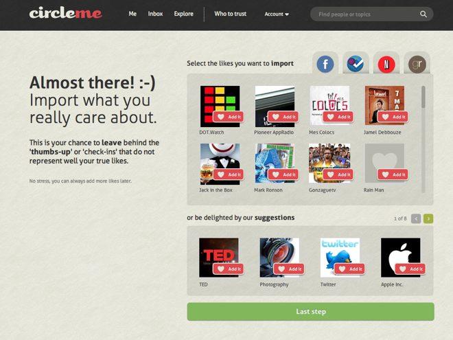CircleMe, un réseau social par intérêts