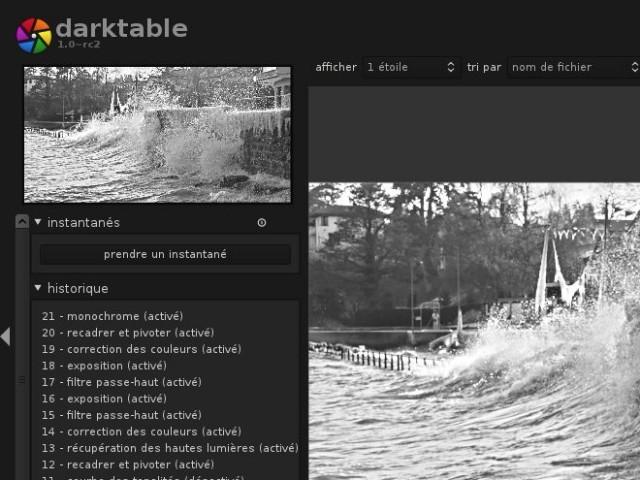 Darktable 1.0 est disponible !