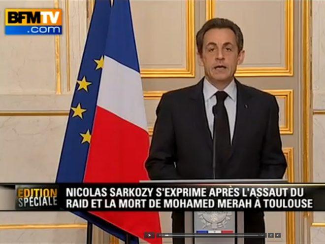 Nicolas Sarkozy souhaite punir pénalement les internautes visitant certains sites