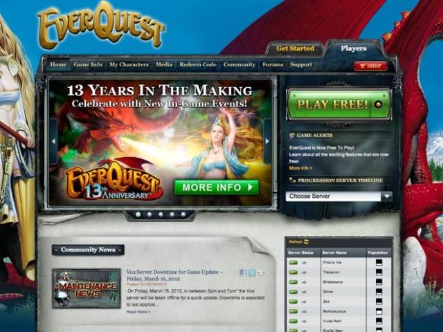 Everquest est désormais gratuit !