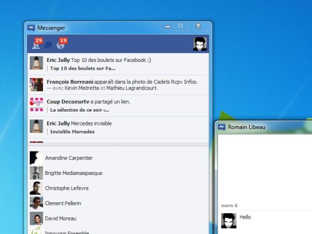 Facebook Messenger bientôt sur Mac