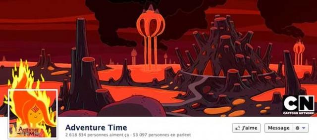 La Timeline Facebook Adventure Time