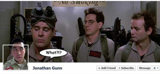 La Timeline Facebook Ghostbusters