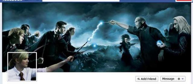 La Timeline Facebook Harry Potter