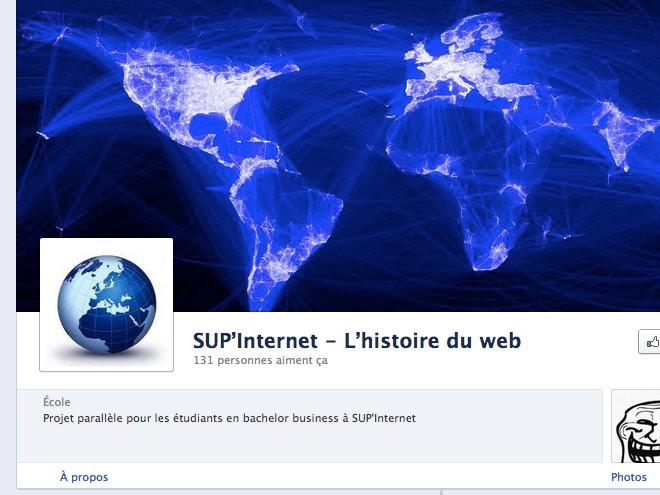Facebook : une Timeline dédiée à l'histoire du web