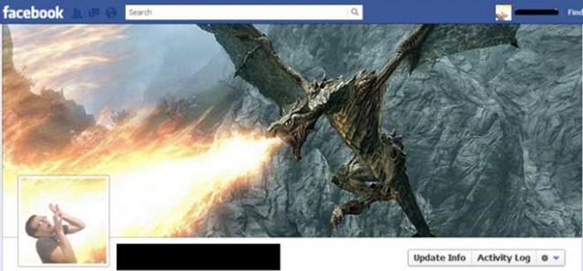 La Timeline Facebook Skyrim