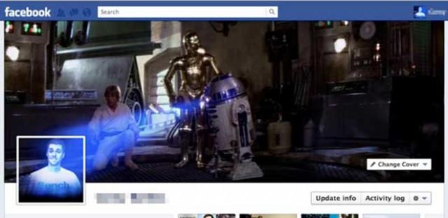 La Timeline Facebook Star Wars