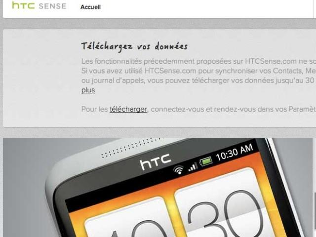HTCSense.com va fermer, pensez à sauvegarder vos données !
