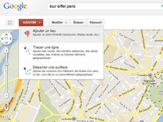 Google Map Maker est arrivé en France