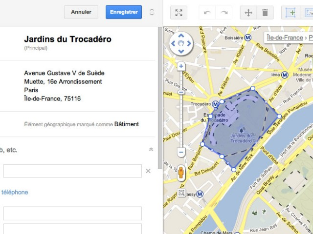 Google Map Maker est arrivé en France