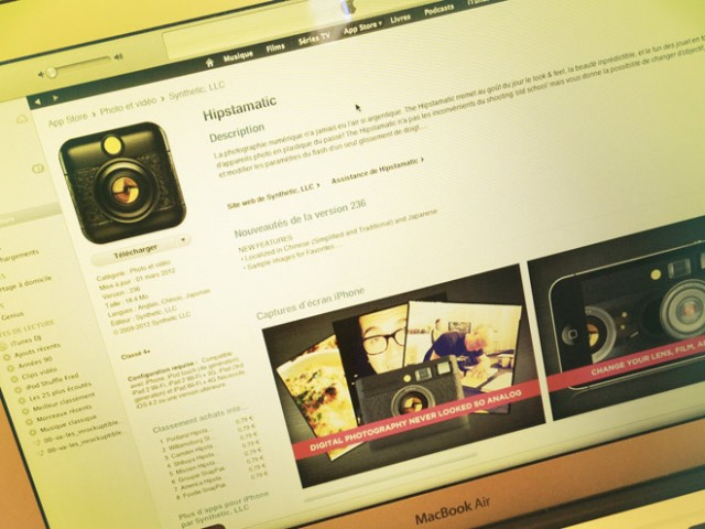 Instagram et Hipstamatic vont signer un partenariat