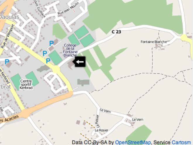 iPhoto sur iOS : OpenStreetMap au lieu de Google Maps