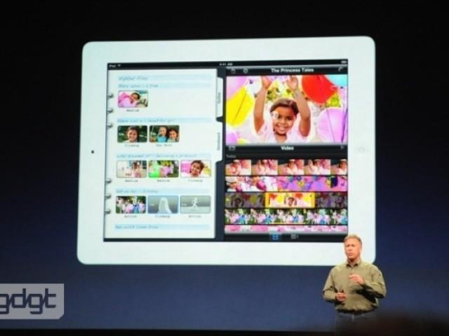 iPhoto arrive sur iPad !