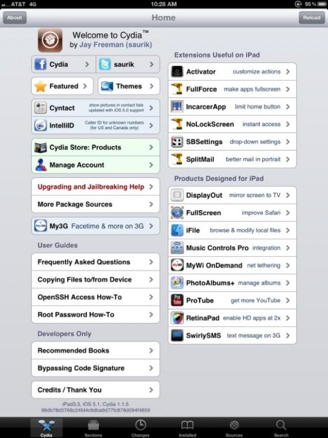 Jailbreak iPad 3 : c'est fait !