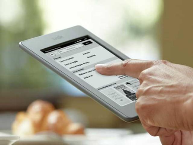 Amazon lance le Kindle Touch en France