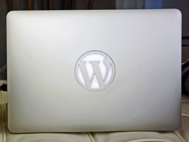 Un MacBook Air à la sauce WordPress