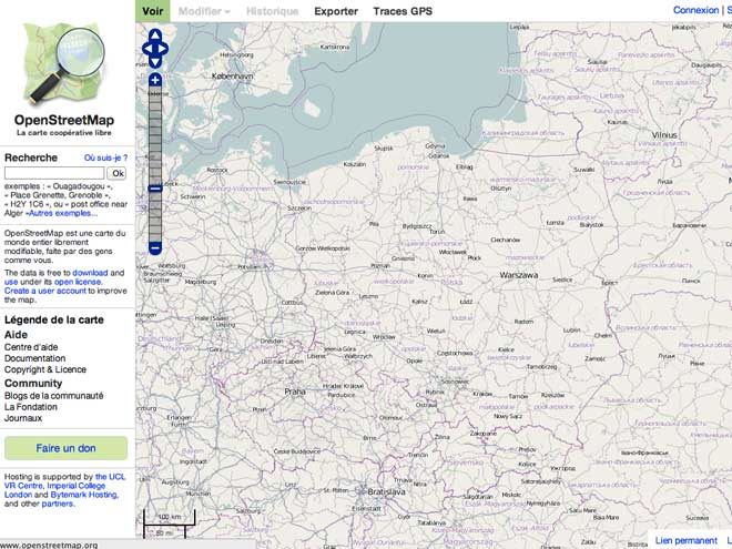 Microsoft soutient OpenStreetMap