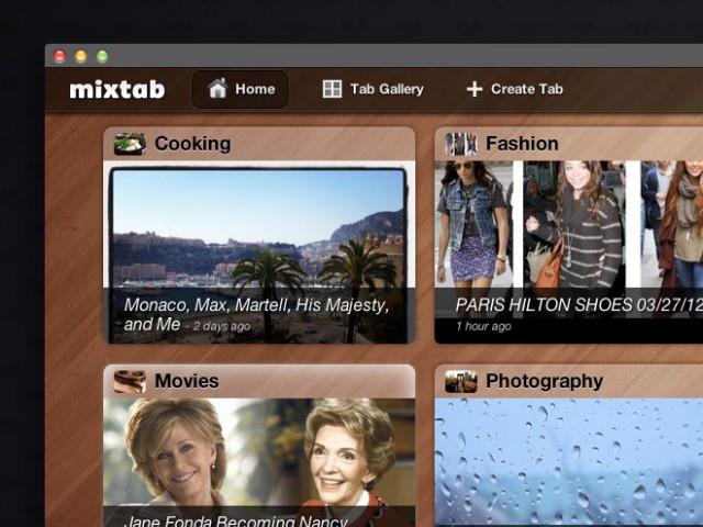 MixTab, un lecteur RSS pour Mac OS et iPad