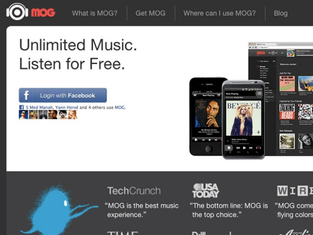 HTC va peut-être racheter Mog, un Deezer-like