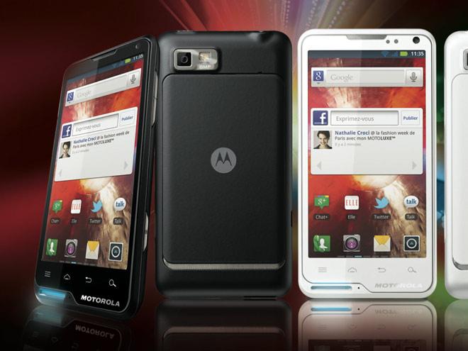 Motoluxe, le nouveau smartphone de Motorola