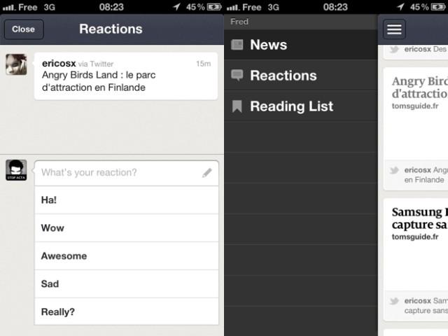 News.me est disponible sur iPhone !