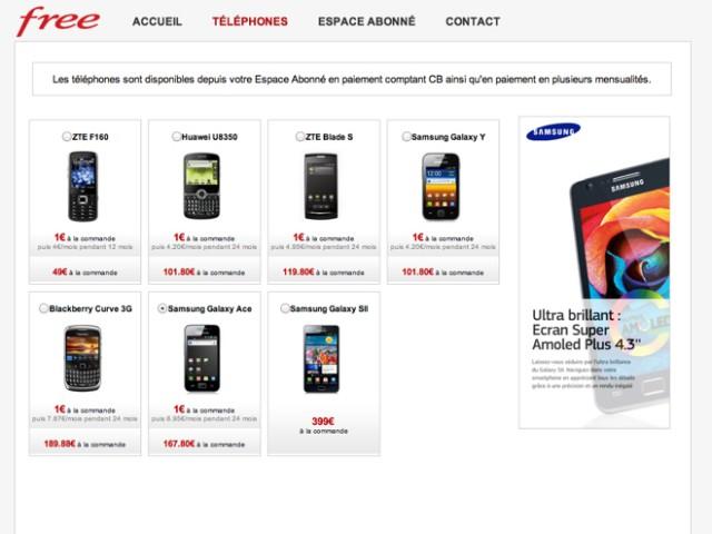 Free Mobile : jusqu'à 30% de réduction sur les mobiles