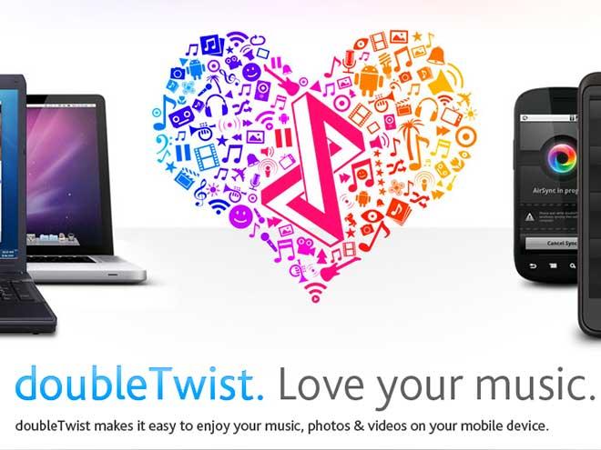 DoubleTwist : mode réveil et intégration de Google Music