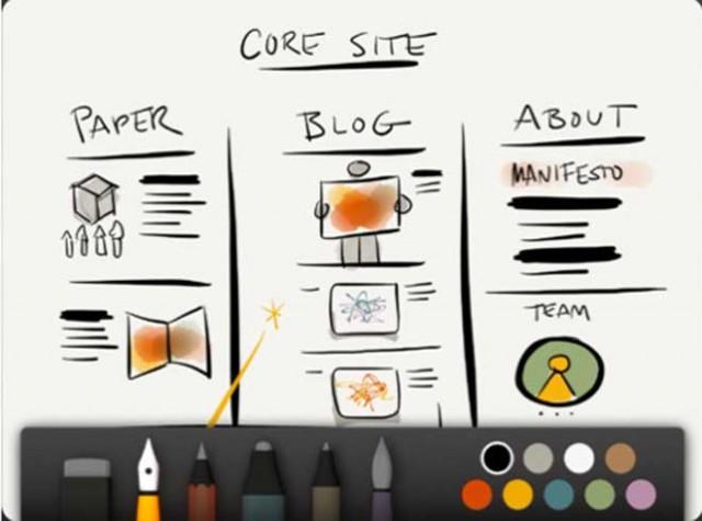 Paper, une application qui transforme l'iPad en carnet de notes