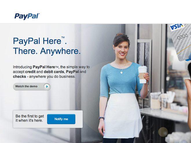 PayPal Here : payer sa baguette avec PayPal, ce sera bientôt possible !
